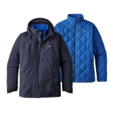 Patagonia Windsweep 3-in-1 Herrenjacke - Navy Blue